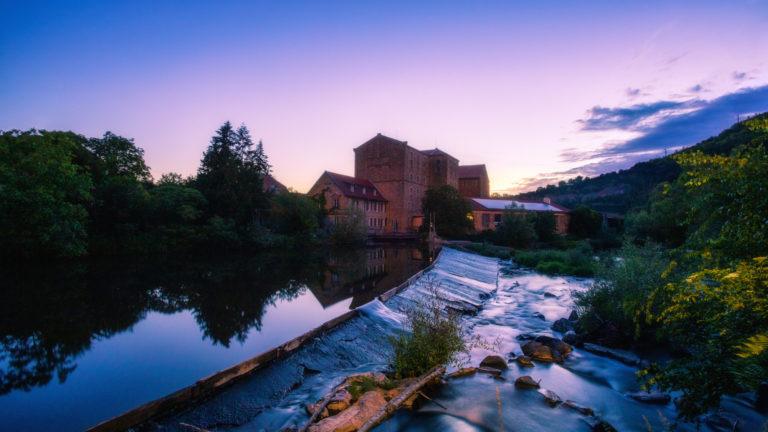 Bannmühle im Morgengrauen